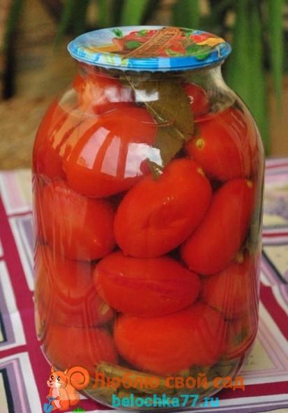 """Рецепт """"Ароматные помидоры"""""""