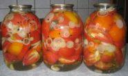 рецепты маринованных помидор на зиму