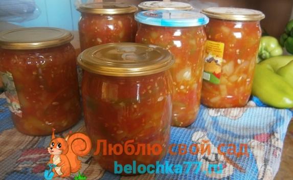Лечо из помидоров и перца с пошаговыми фото