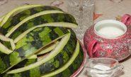 Варенье из арбузных корок - рецепты на зиму