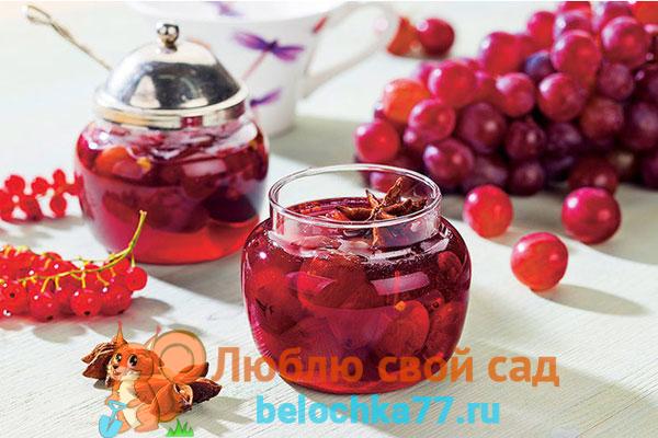 Лучшие рецепты варенья из винограда на зиму