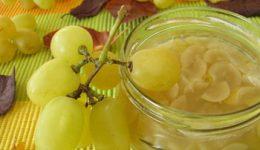 Варенье из винограда: из кишмиша, из винограда Изабелла, с косточками