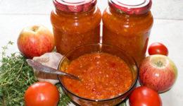 Аджика с яблоками на зиму - лучшие рецепты с фото