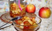 Начинка для пирогов из яблок на зиму - лучшие рецепты с фото