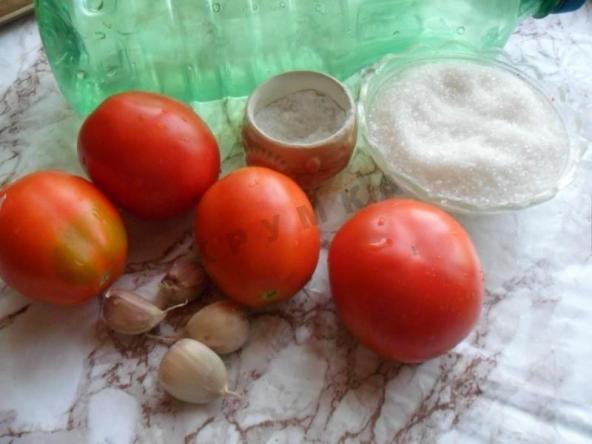 Подготовка ингредиентов для заготовки