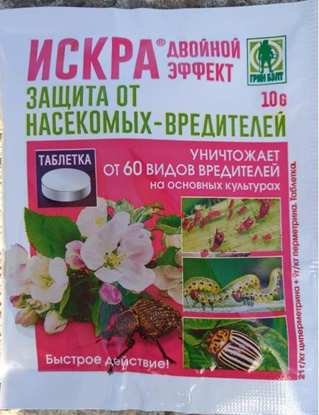 Химические препараты для борьбы с тлей на томатах