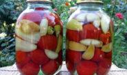 Помидоры с яблоками на зиму: рецепты. Пальчики оближешь и др.