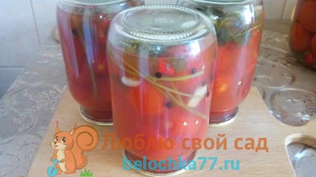 Как мариновать томаты