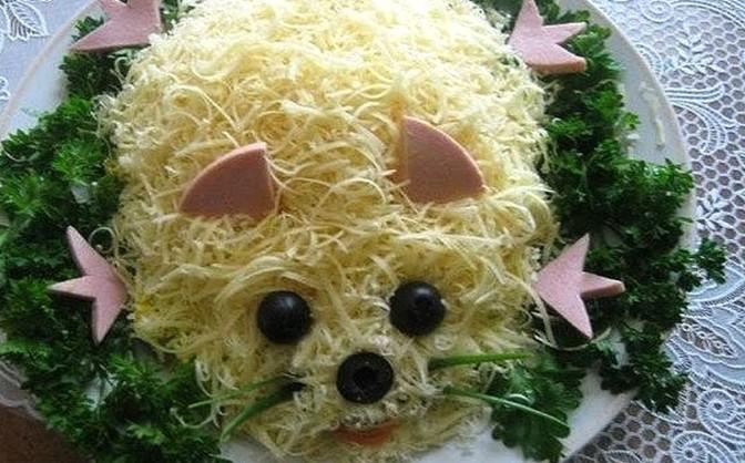 салат на новый год крысы оливье
