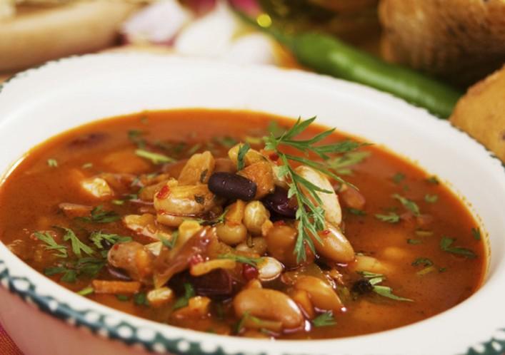 Фасолевый суп по-крестьянски