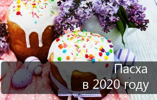 Пасха в 2020 году - когда будет праздноваться